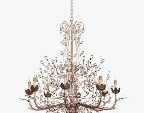 3D Crystal Bud Chandelier