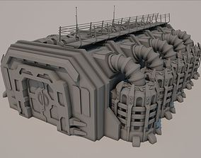Sci-fi Building 1501 3D asset