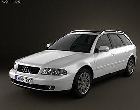 3D model Audi A4 Avant 1999