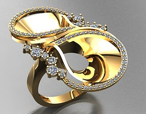 3D printable model Fancy Ring 3d
