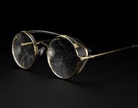 3D Steampunk Modern glasses Hybrid