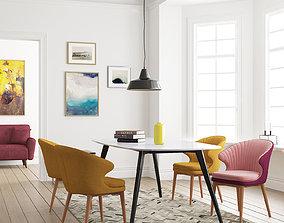 Dining Room 123 Interior 3D model