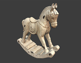 3D asset Decorative Horse