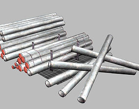 Pipes Pack 3D asset