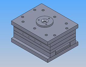 3D injection mold