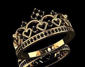 3D print model Ring crown