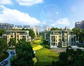 city building house 3D