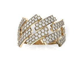 3D print model Hip-hop jewelry ring