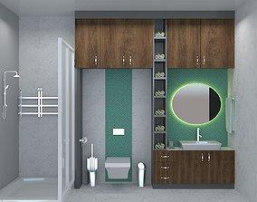 sink ceramic BATHROOM 3D