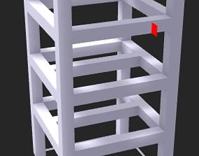 Standard chair 3D printable model