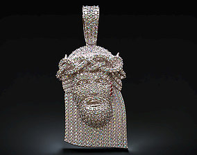 jewellery Jesus diamond pendant 3D printable model