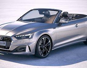 3D Audi A5 Cabrio 2020