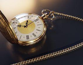 3D Vintage Pocket Watch