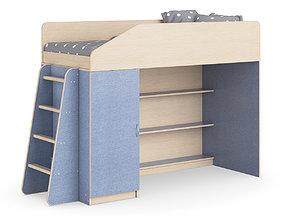 Legenda K11 with LP11 childrens modular bed 3D model