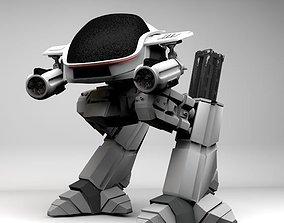 3D print model ED 209