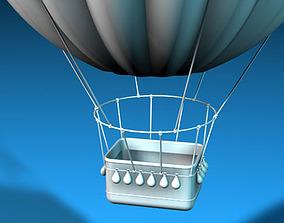 3D model Fantasy montgolfiere