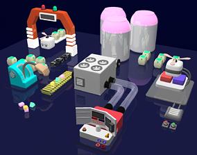 3D model KIDS PLAY STATION