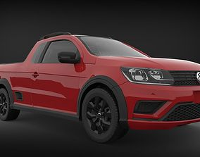 Volkswagen Saveiro 2017 - Trendline 3D model