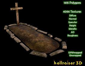 Soil Grave1 - PBR - Textured 3D asset