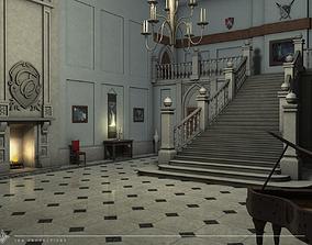 Victorian Entrance Hall 3D model