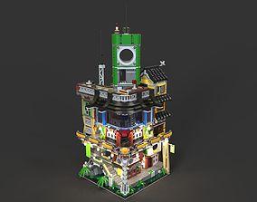 3D model Lego Ninjago city 2