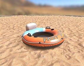 Inflatable Water Wheel 3D model