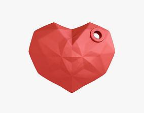 3D print model Heart keychain day