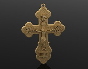 christian Cross 3D printable model