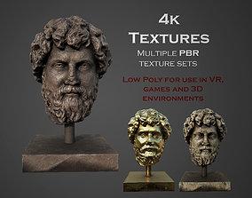 head of Lucius Aelius 3D model