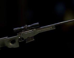3D asset L96A1