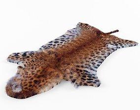 leopard skin 3D asset