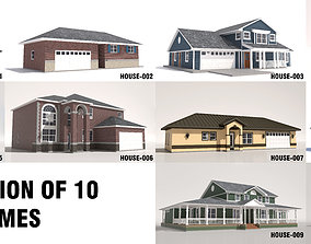 3D 10 House Collection-001