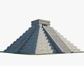3D model Pyramid of Kukulkan