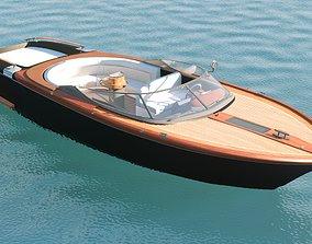 Boad Water transport 3D