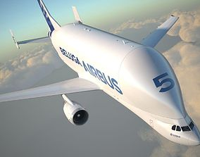 3D model Airbus Beluga XL