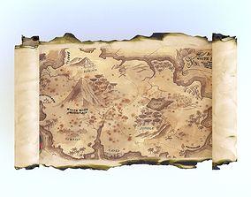 3D model realtime Treasure map