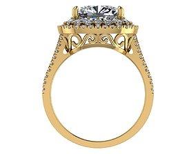 Golden Ring 3D golden