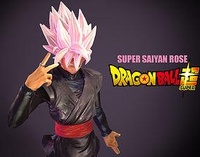 Super Saiyan Rose 3D model
