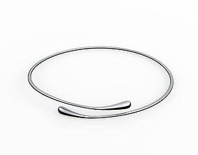 3D Silver Bracelet Waterdrop design