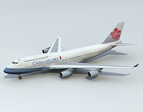 3D 747-400 China Airlines