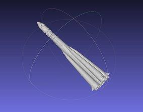 Vostok K Rocket Model