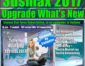 Corso 3ds max 2017 Upgrade What New un