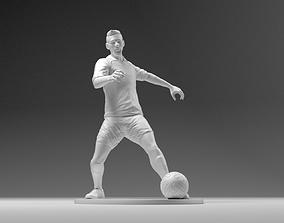 3D print model Footballer 03 Footstrike 02 Stl