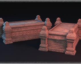 Sarcophagus 3D model cemetary
