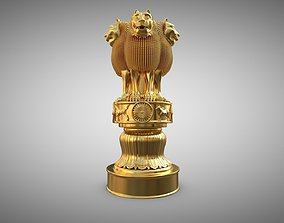 Ashoka Stambha 3D model