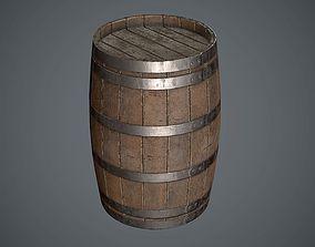 3D model Barrel Wooden