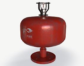 ceiling fire extinguisher 3D model