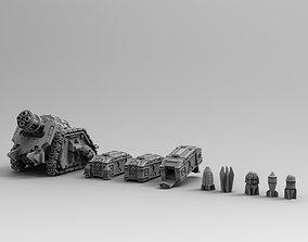 3D printable model Legion Longsword Quadruple Mortar 5