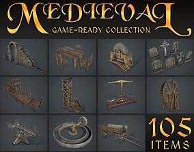 Medieval Collection 3D asset
