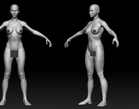 female body 01 3D model